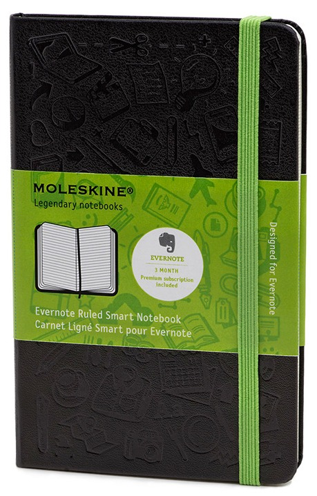 Evernote And Moleskine Team Up To Create A Smart Notebook For iOS Users