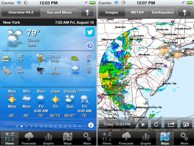 SBSH Mobile Adds Striking New Themes And Features To PocketWeather
