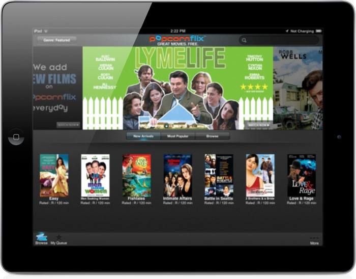 Looking For Free Movies On Your iOS Device? Check Out Popcornflix