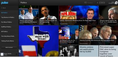 Pulse News Arrives On Web