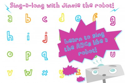 Robot ABCs With Jinxie Brings Together Man And Machine To Teach The Alphabet