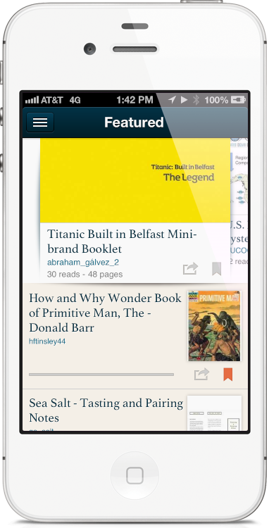 The New Scribd App For iPhone Has To Be A Joke, Right?