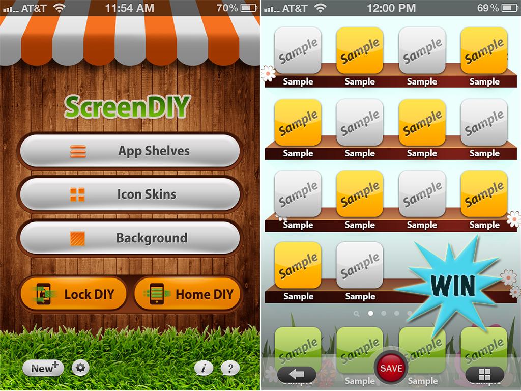 Win A ScreenDIY Promo Code And Do Regular iPhone Lock Screen And Wallpaper Remodeling