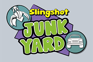 Take Your Best Shot Throwing And Crushing Cars In The Upcoming Slingshot Junkyard