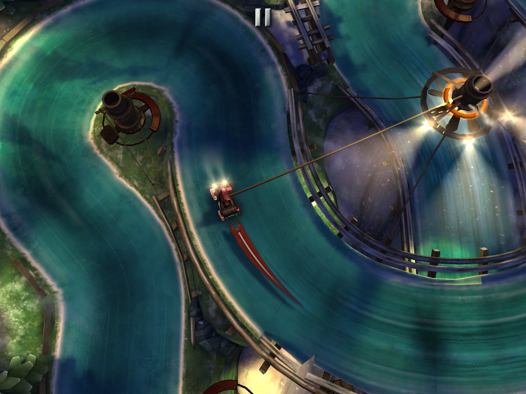 Shoot For The Gold Against Worldwide Competitors In Slingshot Racing's Online Multiplayer Matches