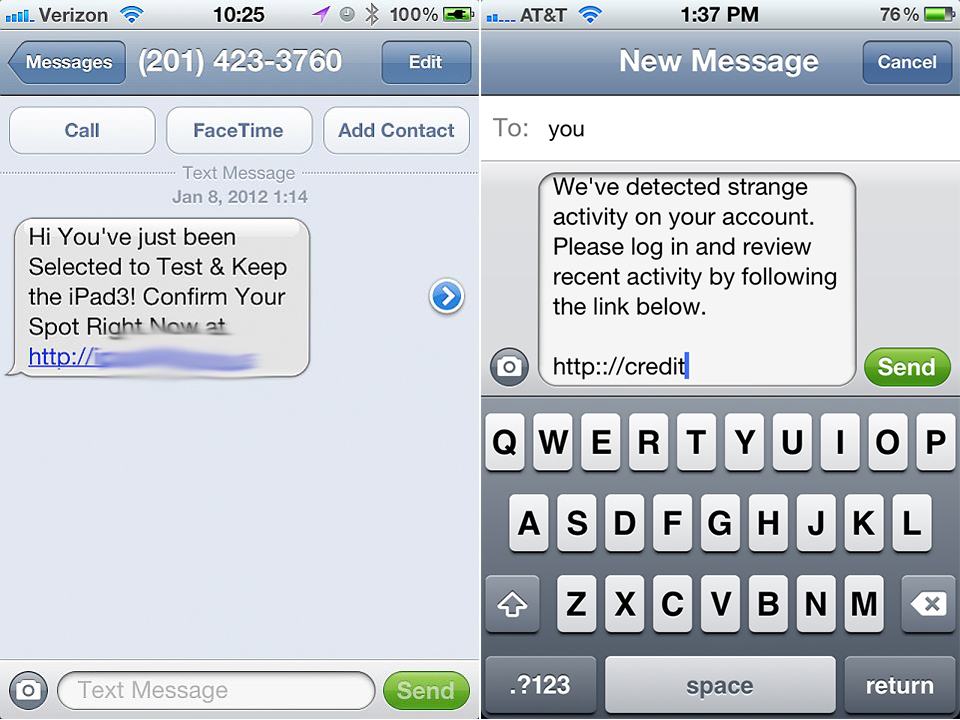 Apple States That There's Already A Solution To The SMS Security Issue