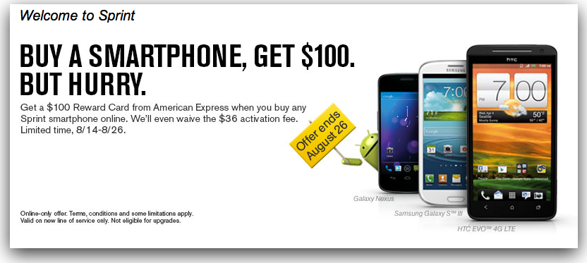 Sprint Ups Ante, Now Offering $100 Cash Back For Each iPhone 4S Purchase