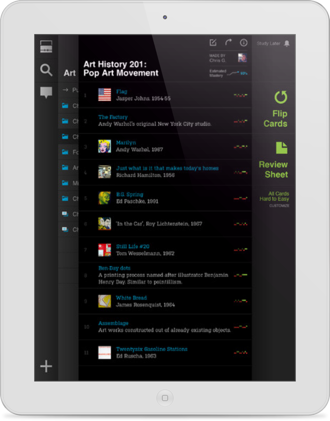 STUDYBLUE, The Popular Study Tool For Students Arrives For iPad