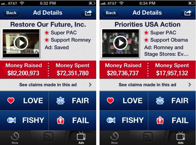 Super PACs app