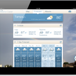 WeatherCaster For iPad Combines Forecasting With Social