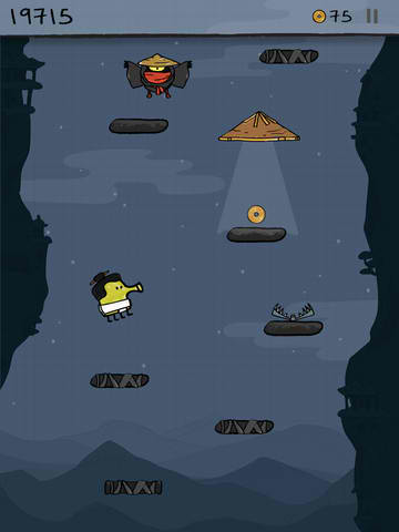 Hiyaaa! Doodle Jump HD Goes All-Out Ninja In Latest Update