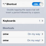 Keyboard Shortcuts Get iCloud Sync In iOS 6
