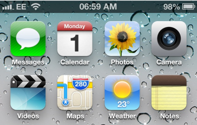 Add The iOS 6 Status Bar To iOS 5-Powered Jailbroken iDevices