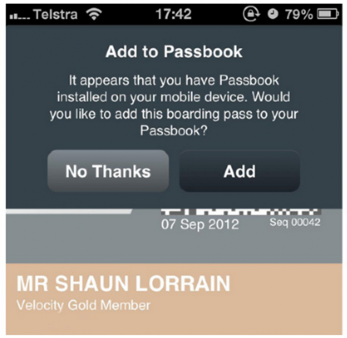 Airlines Add Passbook Support Ahead Of iOS 6 Launch