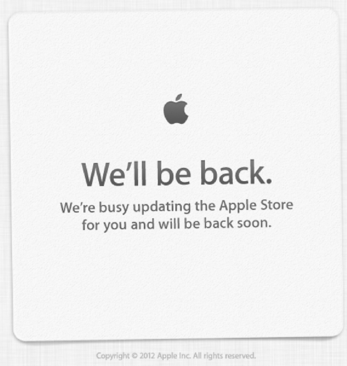 Apple Store Goes Down: Are You Ready?