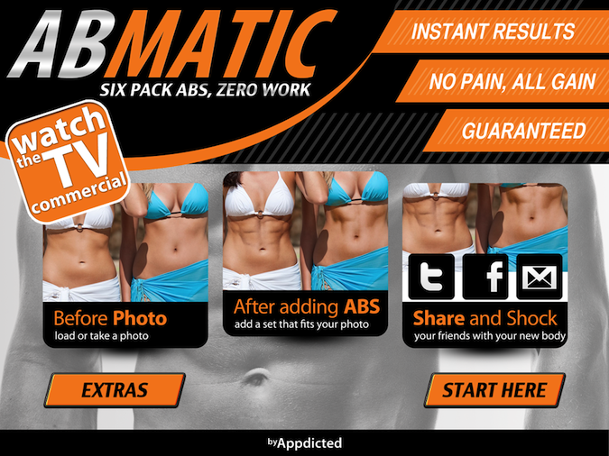Quirky App Of The Day: ABSmatic Brings The Abs Without The Pain