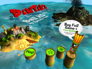 Pin Tiki Ball Free by Operatio screenshot