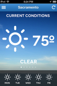 Forecaster Tells You The Weather Conditions And Nothing Else