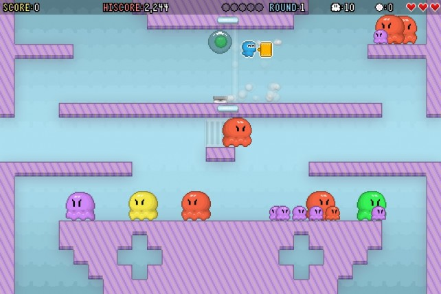 Like Platformers And Color Matching Puzzles? Then You'll Like Oh Hi! Octopi!