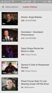 Jasmine - YouTube Client by Morrissey Exchange Pty Ltd screenshot