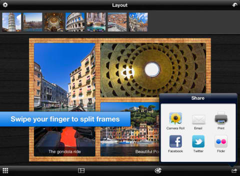 Photo Framing App Layout Lays Out Universal Support And More