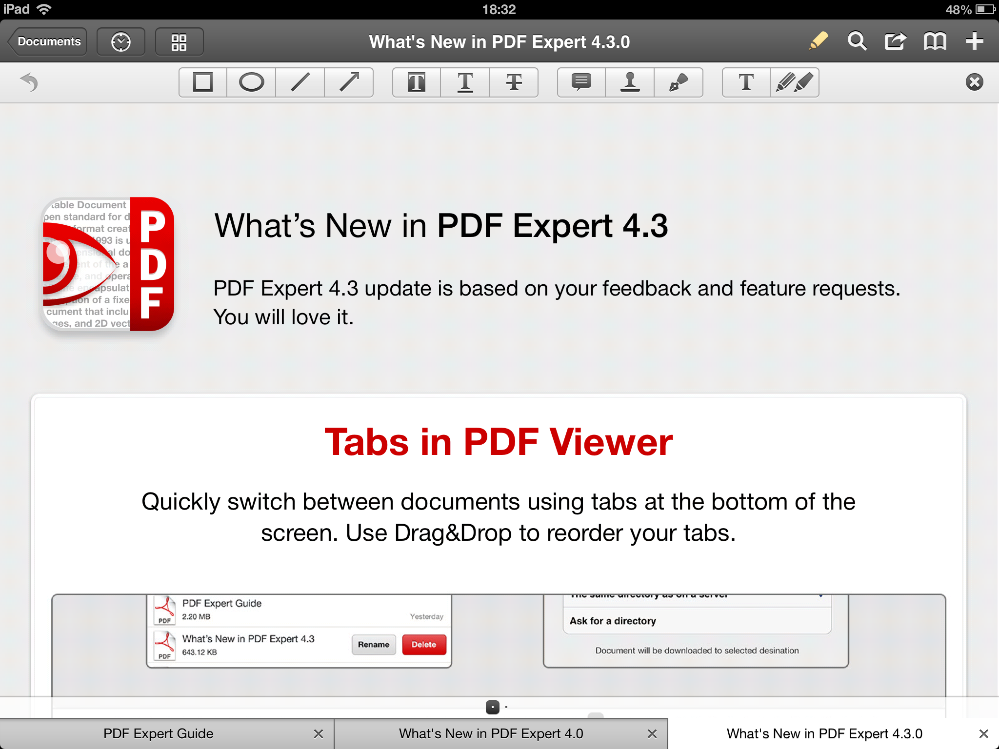 Become A Productivity Expert With The New Tabbed PDF Viewer In PDF Expert For iPad