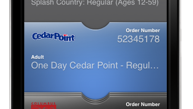 how to put tickets on passbook