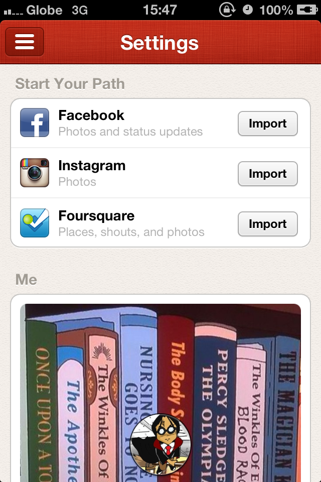 In Addition To Being iPhone 5-Ready, Path Now Lets You Import Moments From Other Popular Social Networks