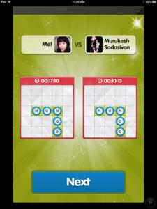 Bingo Words by Win.com screenshot
