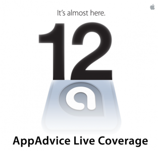 AppAdvice Live Coverage: Here We Go