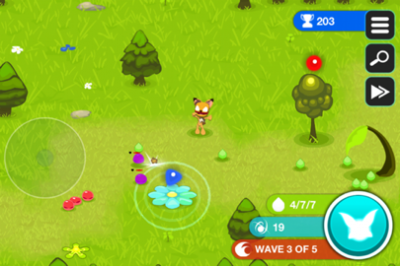 Help Foxxie Save The Great Tree In Forest Guardians