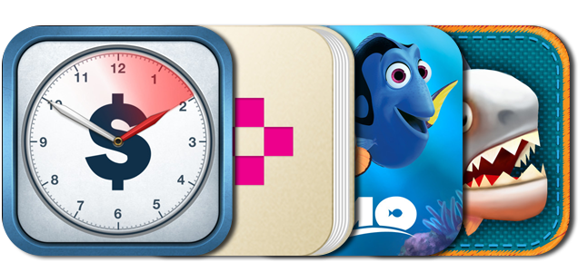 Today's Best Apps: Hours Keeper, Finding Nemo: Storybook Deluxe, Dictionary+ HD And More