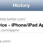 New In iOS 6: Quickly View Your Browsing History On iPhone And iPod Touch