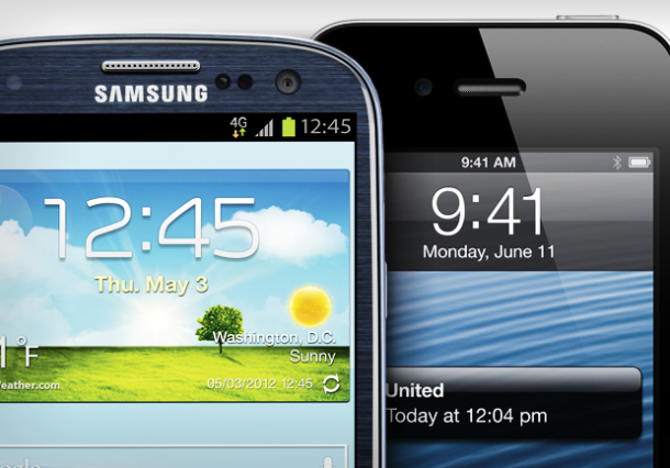 For Now, Samsung Beats Apple In Smartphone Race