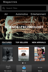 Zinio One-Ups Rival Magazine App Next Issue With New iPhone-Optimized Newsstand