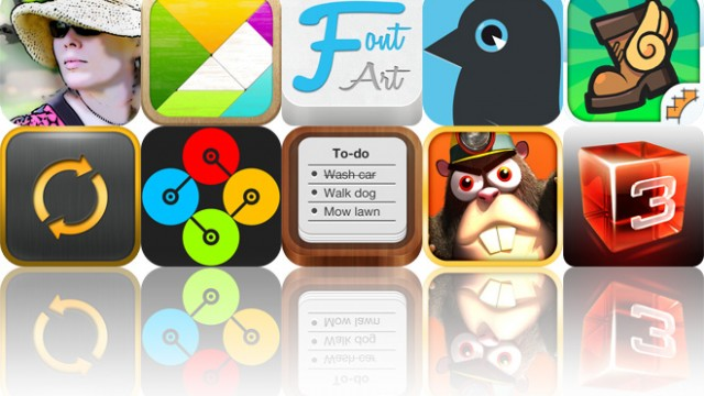 Today's Apps Gone Free: Mobile Monet, Tangram Puzzles, Font Art And More