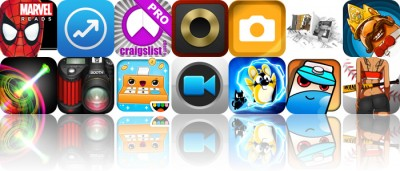Today's Apps Gone Free: The Amazing Spider-Man: An Origin Story, Analytiks, cPRO And More