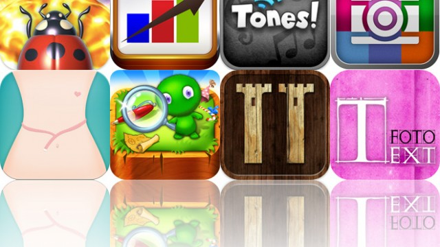Today's Apps Gone Free: Bug Chucker, Daily Income, Tones! Pro And More