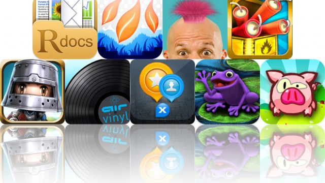 Today's Apps Gone Free: ReaddleDocs, AirVinyl, Crazy Hair Studio And More