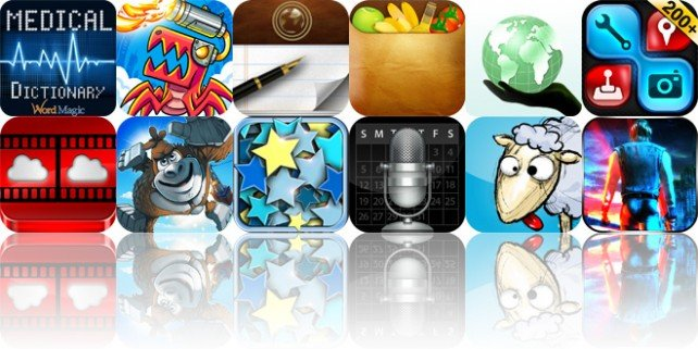 Today's Apps Gone Free: English-Spanish Medical Dictionary, Velocispider, PaperHelper And More
