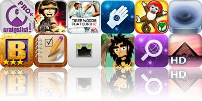 Today's Apps Gone Free: cPRO Craigslist Client, Tiny Troopers, Tiger Woods PGA TOUR 12 And More