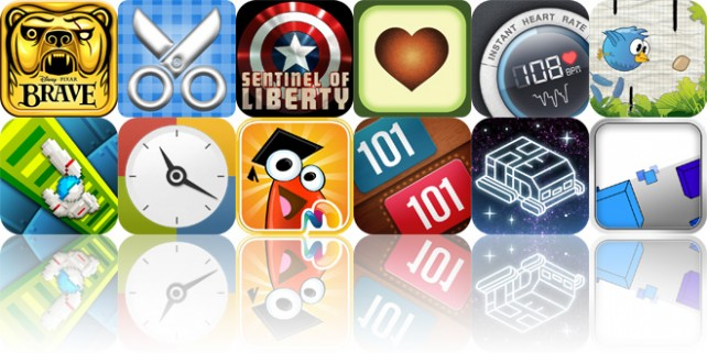 Today's Apps Gone Free: Temple Run: Brave, Scrap It, Avocado And More