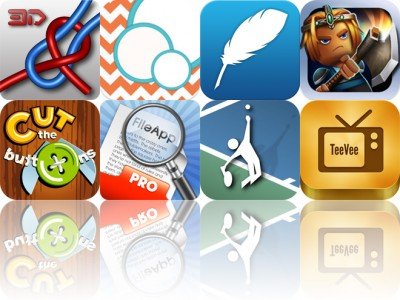 Today's Apps Gone Free: Knots 3D, BubbleFrame, Maxjournal And More