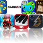 Today's Apps Gone Free: Real Piano 3D, Tiny War, Carbon Pro And More