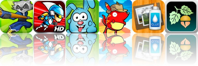 Today's Apps Gone Free: Hungry Rabbit, Run Roo Run, TurboCollage And More