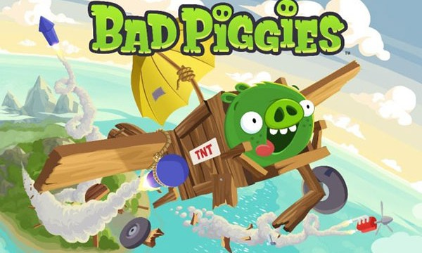 New Trailer Shows Bad Piggies Really Can Fly
