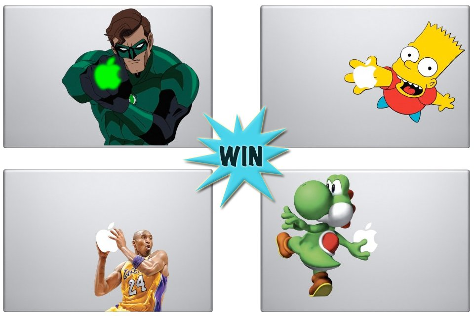 Your Mac Will Be The Talk Of The Town If You Win These Decals