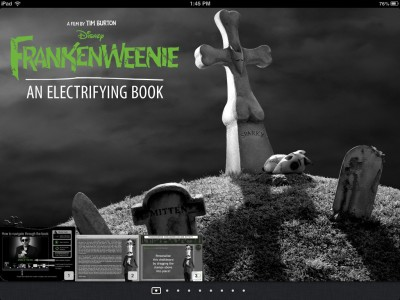 It's Alive! Disney Unveils Frankenweenie: An Electrifying Book