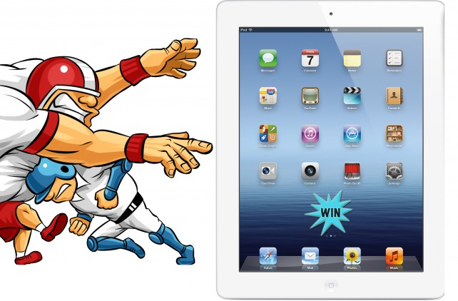 The Ultimate Score - Enter To Win A New iPad