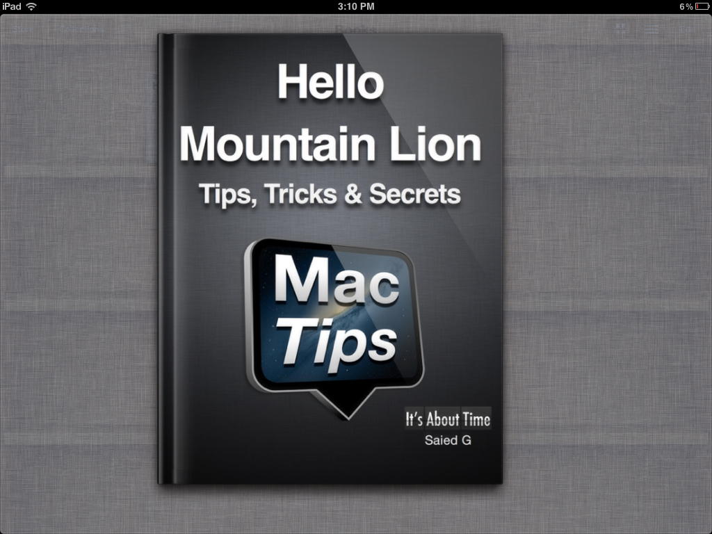 Hello Tips, Tricks And Secrets For Mountain Lion Is Now Mobilized